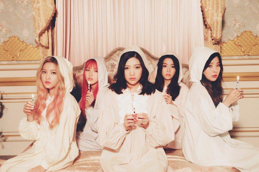 Red Velvet剛來過台灣演出。圖/愛貝克思提供