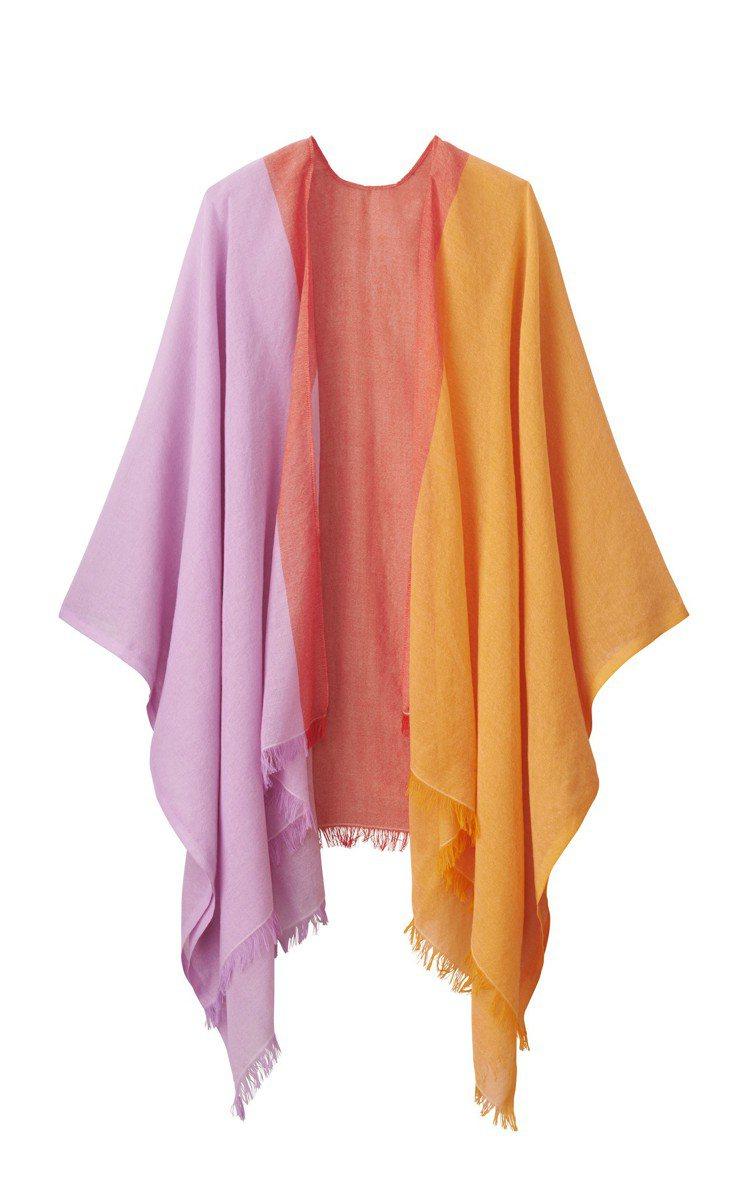 UNIQLO與tomas maier聯名度假系列女裝披巾,約590元。圖/UNI...