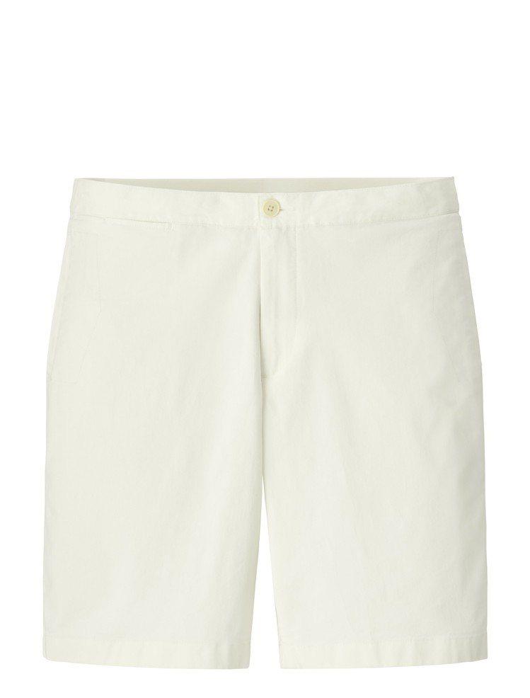 UNIQLO與tomas maier聯名度假系列輕便卡其短褲,約990元。圖/U...