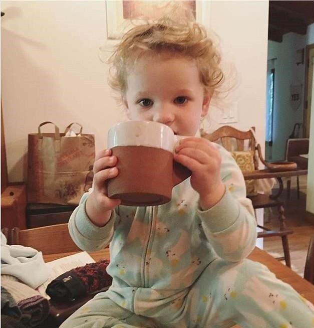 艾瑞卡克里斯坦森的女兒快要兩歲,非常可愛。圖/摘自Instagram
