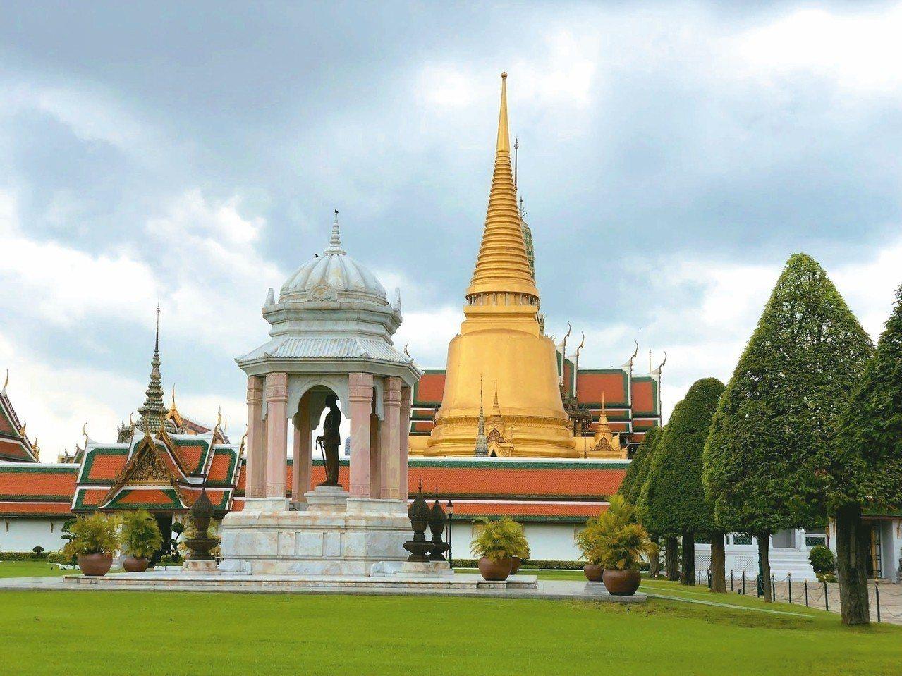 大皇宮是到泰國曼谷必去的景點。 記者魏妤庭/攝影