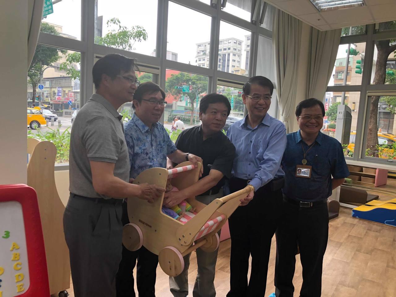 健康托嬰中心將於本月24日開幕,預計可收托45名小小孩。 記者陳靖宜/攝影