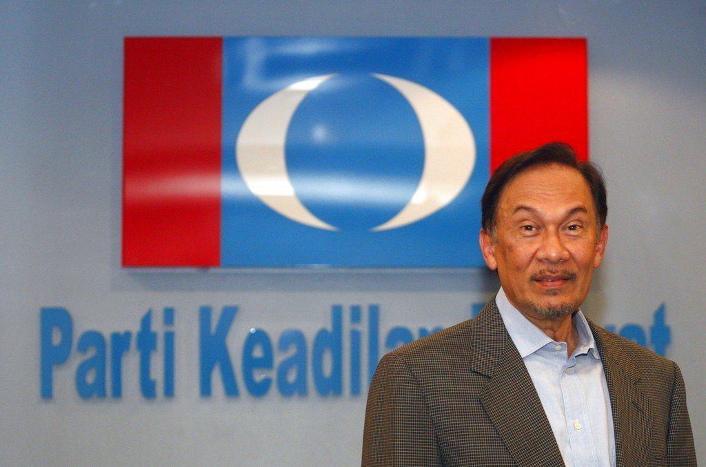 馬來西亞前副總理安華(Anwar Ibrahim)。美聯社