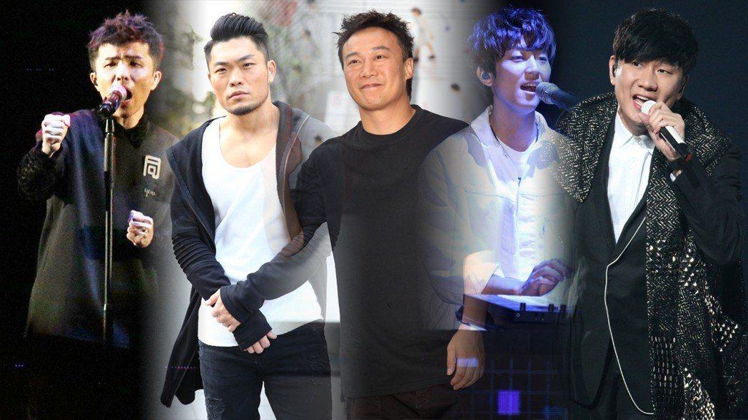第29屆金曲獎今天公布最佳國語男歌手入圍名單。圖/聯合報系資料照