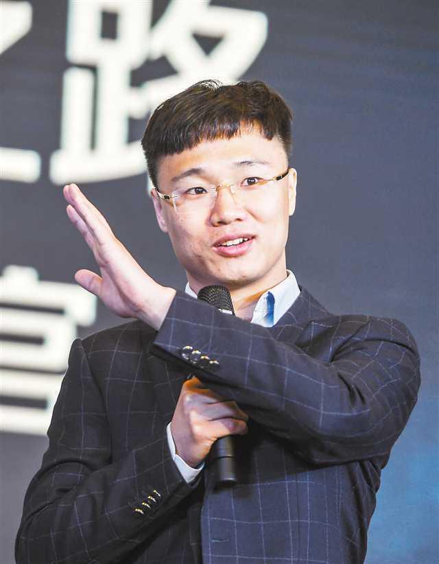 零壹空間CEO舒暢。(人民網)
