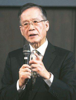 中華民國無任所大使、台灣永續能源研究基金會董事長簡又新。 記者侯永全/攝影