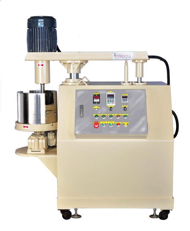 泰億機械國際攪拌公司推出轉桶式快速擴散攪拌機。 泰億/提供