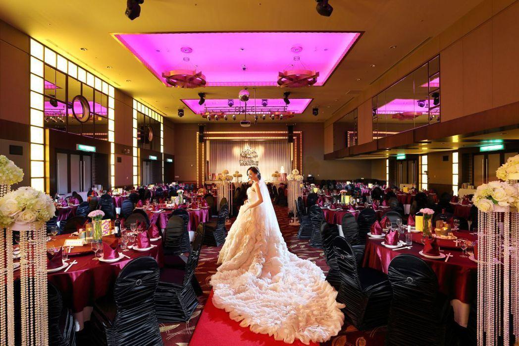 大億麗緻酒店6月30日將舉辦星光璀璨婚禮體驗日活動。  大億麗緻 提供