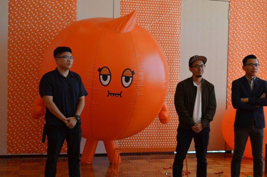 新光三越台南中山店推出「阿尼斯特場域體驗特展」。  陳慧明 攝影
