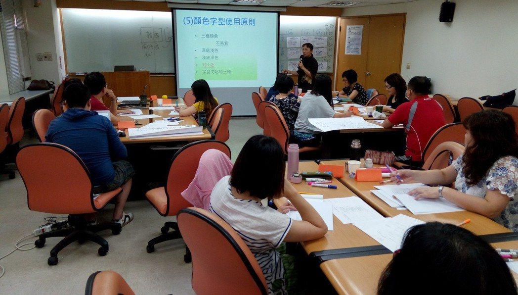 培訓班師資聘自各界傑出優秀人士名,透過企業實地觀摩、分組研討。財團法人台灣中小企...