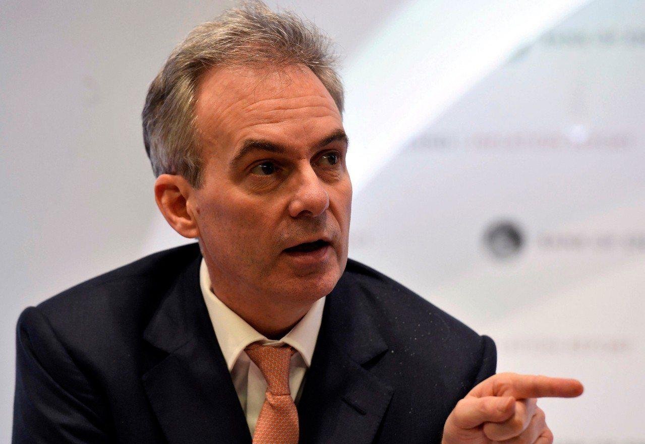 英格蘭銀行副總裁布羅德班特(Ben Broadbent)。 美聯社資料照片