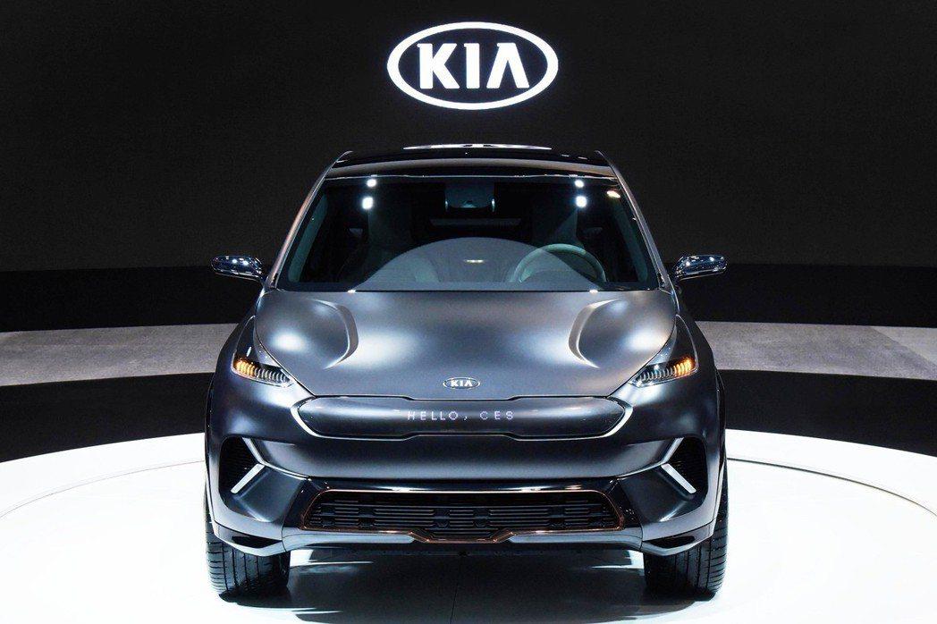 圖為Kia Niro EV Concept。 摘自Kia