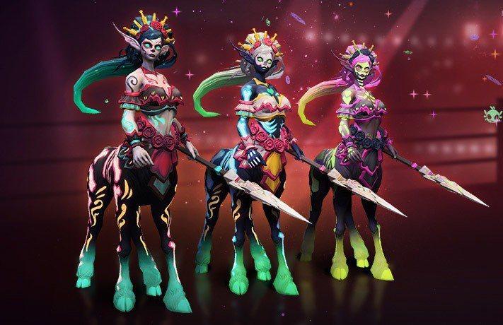 傳奇造型 - 死神露娜拉﹑卡翠娜露娜拉,與亡靈露娜拉。