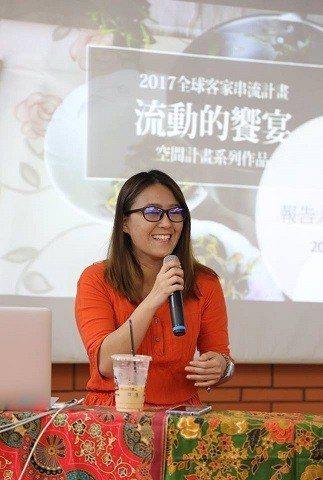 2017全球客家串流計畫入選者詹慧君。 台北市客家文化基金會/提供