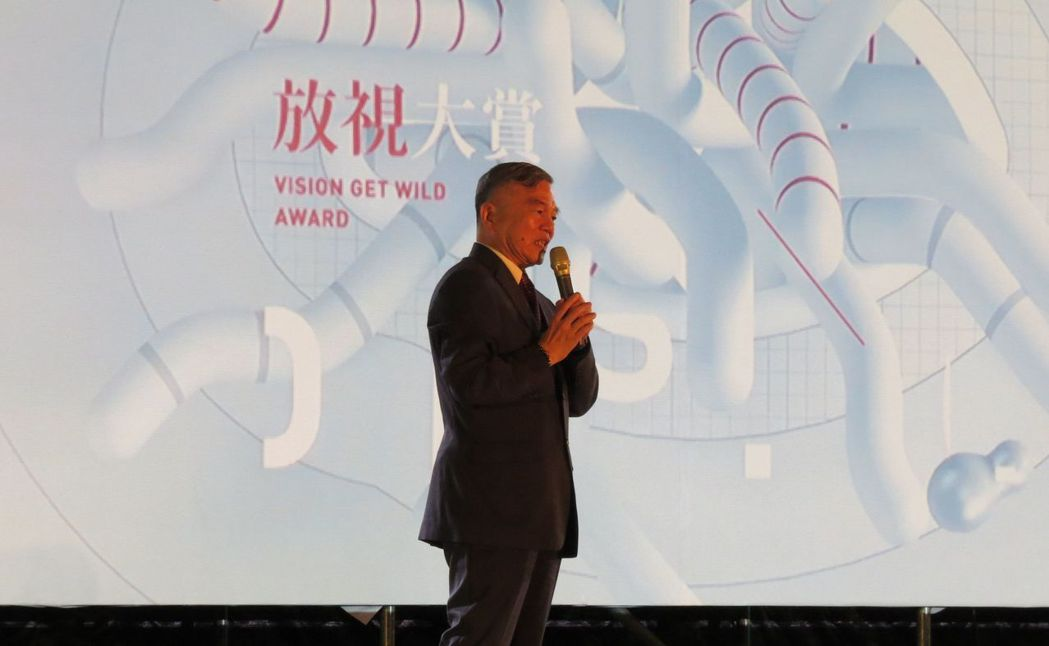經濟部部長沈榮津致詞表示,放視大賞是產學合作和人才媒合的重要平台,不只讓台灣新銳...