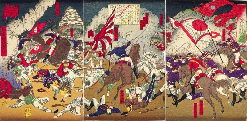 薩摩軍決議強攻熊本城,並與官軍的山縣有朋多次苦戰,激鬥過程中,就連熊本城的天守閣...