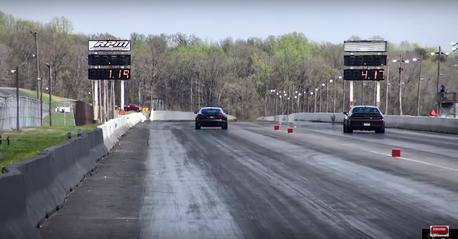 (影音) Jaguar跑得贏直線加速王Dodge Demo魔鬼跑車嗎?