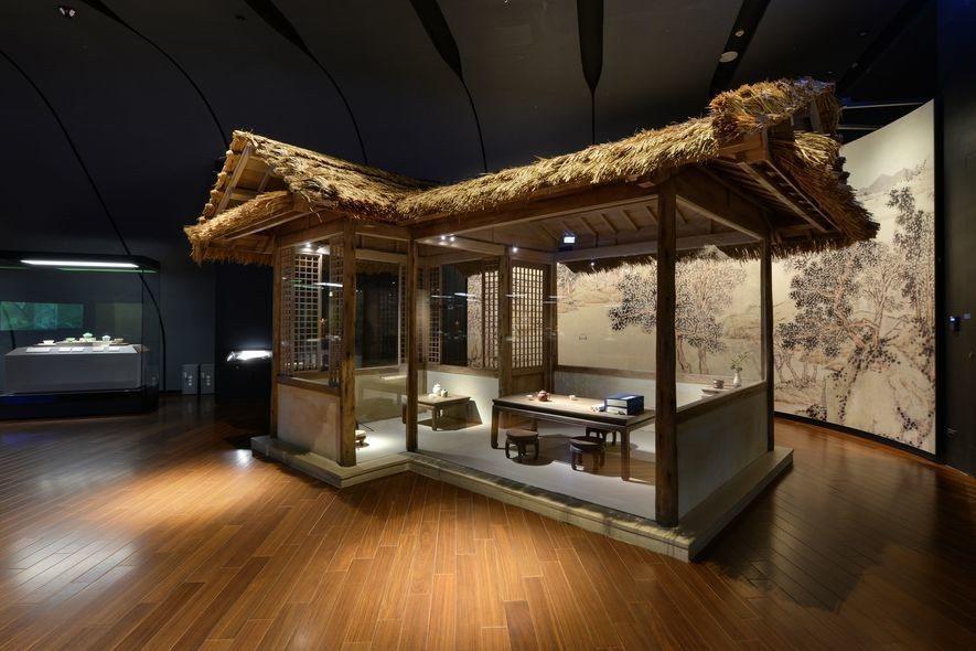 (圖)士耕室內設計 作品 國立故宮博物院南部院區 日本茶室展示與明代茶寮展示
