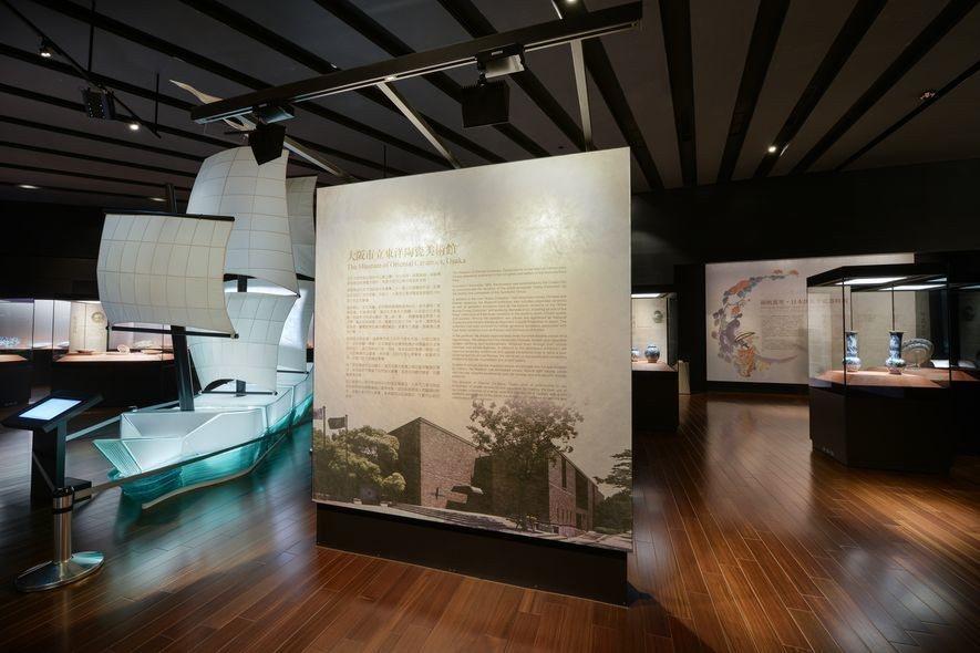 (圖)士耕室內設計 作品 國立故宮博物院南部院區 茶席展示與伊萬里陶瓷展示