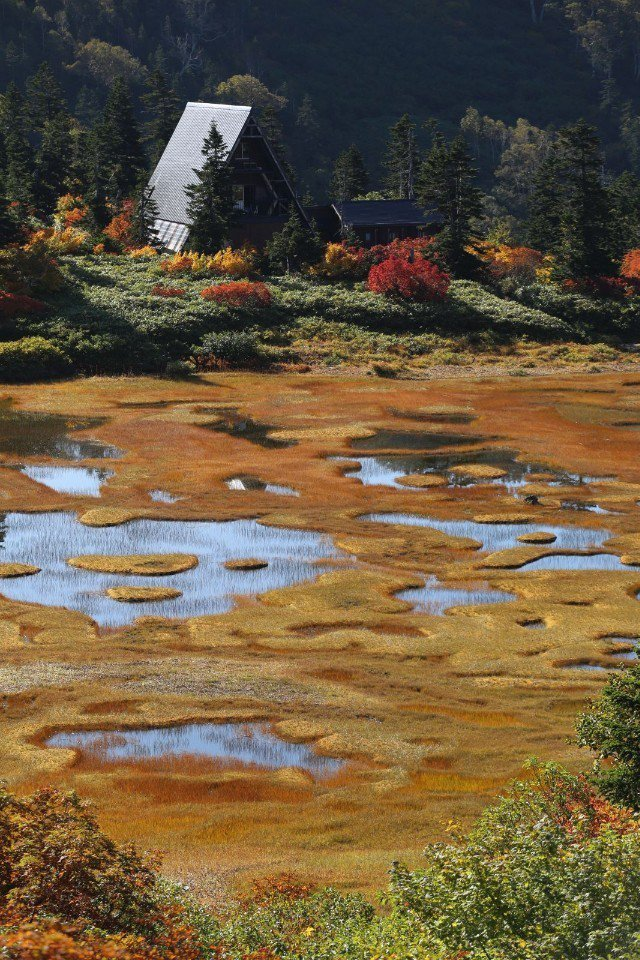 ▲美麗的高谷池,跟童話故事一般的山小屋!(Cliff 攝)