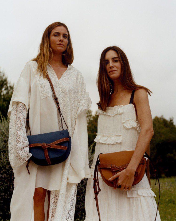 品牌經典包款的Paula's Ibiza系列也包括全新的Gate Bag。圖/L...