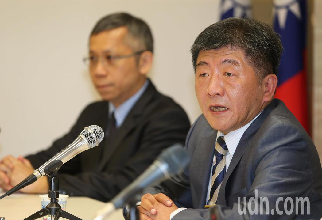 衛生福利部下午舉行WHA會前記者會,衛福部長陳時中在記者會表示今年台灣沒有收到邀...