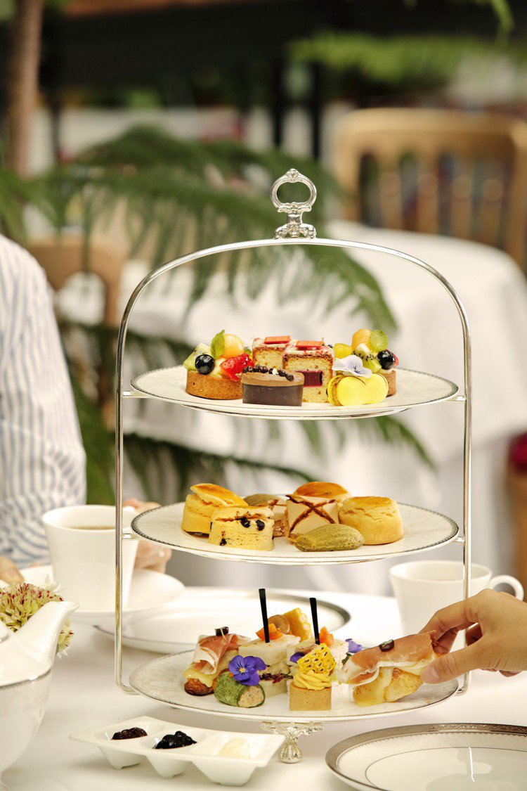 Deluxe High Tea Set,售價1,560元+10%。圖/BELLA...