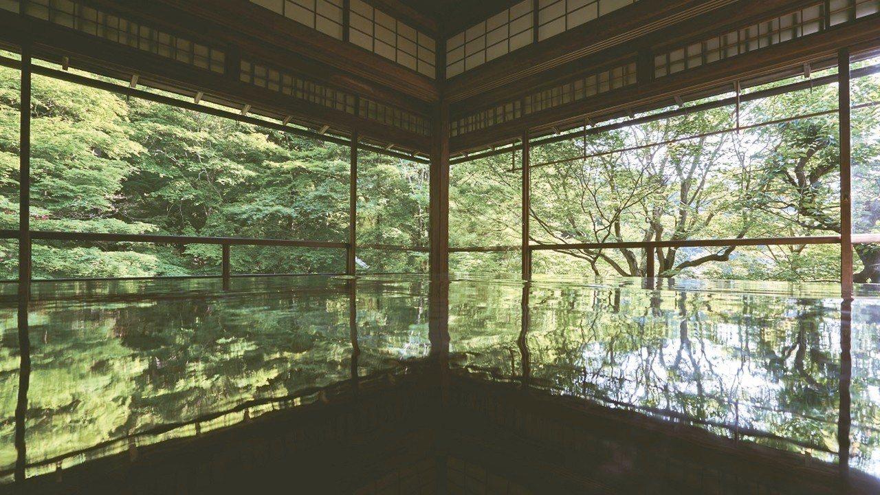 瑠璃光院是一年只開放兩次的賞楓秘境。 圖/京都市台灣推廣事務所提供