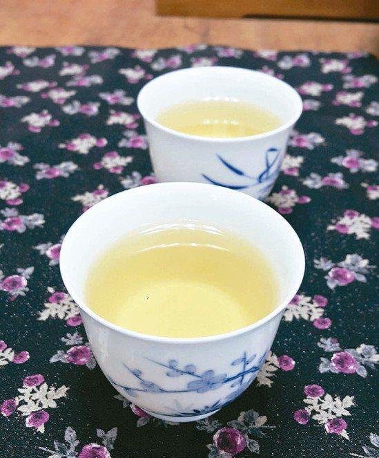綠茶。 記者徐白櫻/攝影