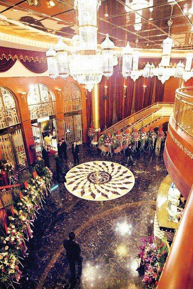 台中市知名的金錢豹酒店。 圖/聯合報系資料照片