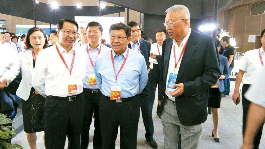 2018中國(昆山)品牌產品進口交易會昨開幕,甫卸任海協會長的中國外商投資企業協...