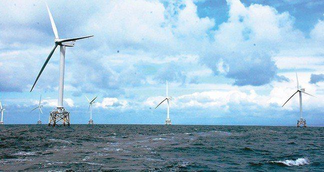 離岸風電。 報系資料照