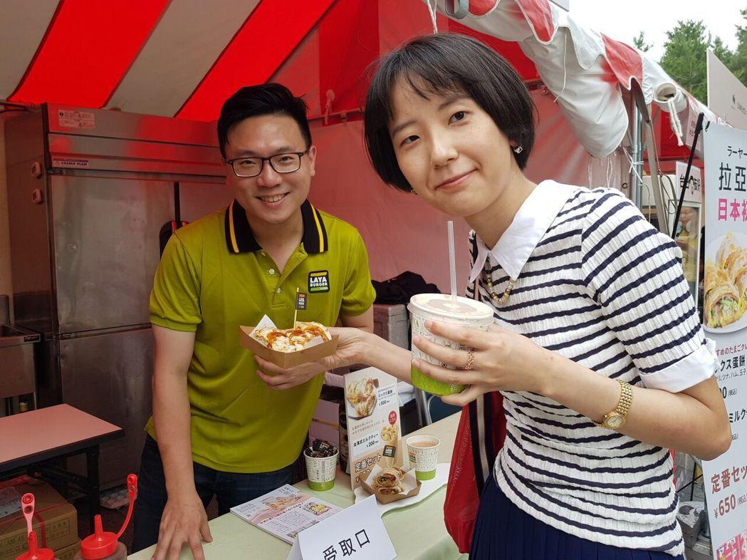 外國觀光客被台灣國民早餐的美味征服。森邦集團/提供
