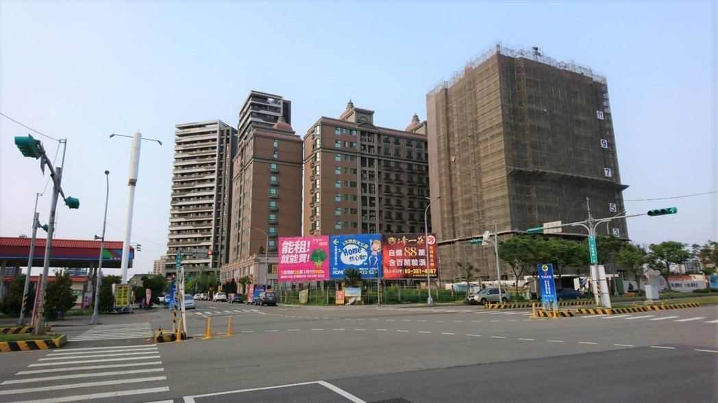 圖/永慶房屋提供 桃園青埔今年推案潮有死灰復燃的跡象。