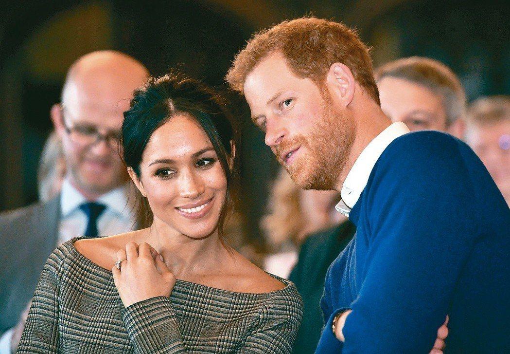 當哈利遇上梅根 打破英國王室離婚禁忌