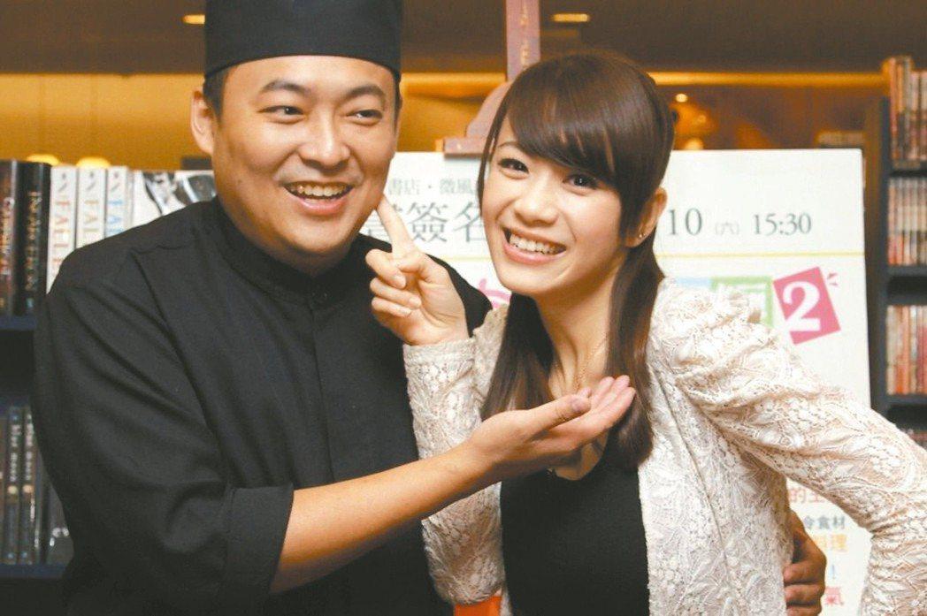 郭宗坤(左)與柯以柔(右)將進行離婚官司。 圖/聯合報系資料照