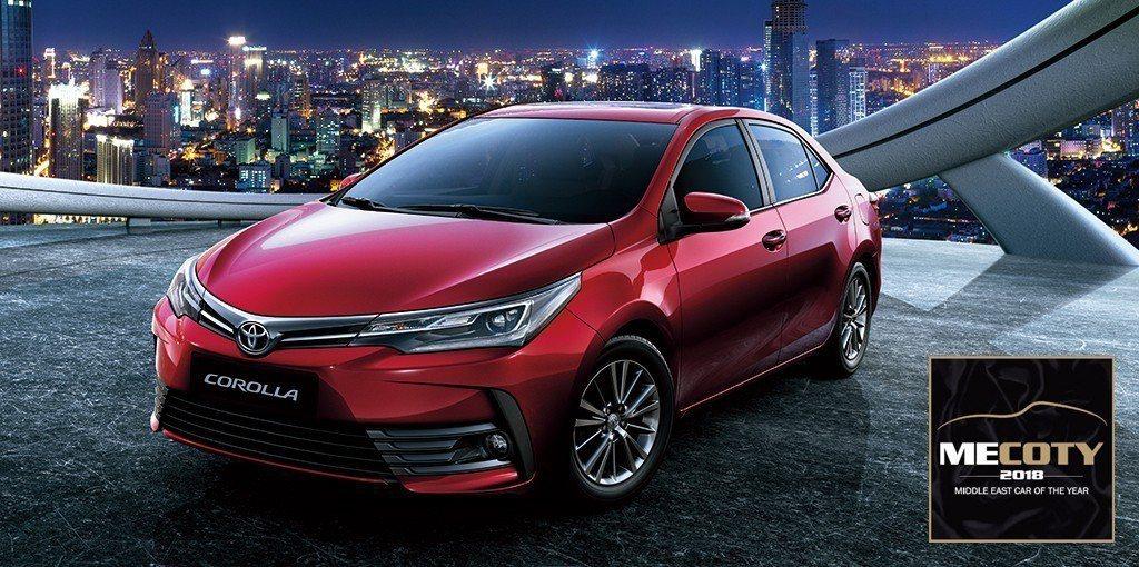 Corolla榮獲2018中東年度風雲車賞「最佳小型轎車」榮耀。 圖/和泰汽車提...