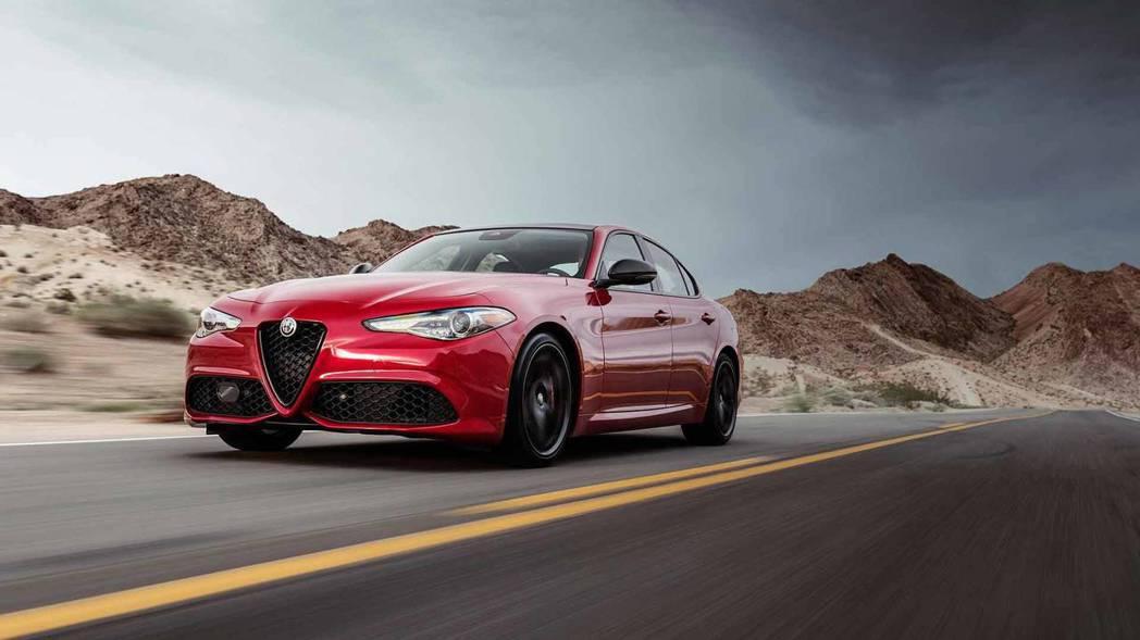 圖為Alfa Romeo Giulia Quadrifoglio。 摘自Alfa...