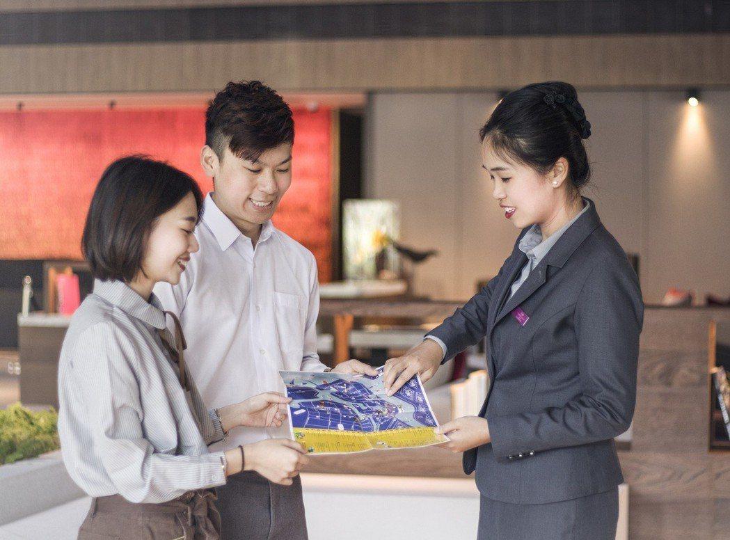 遊客可以按照酒店所自製「漫遊安平地圖」,按圖索驥,發掘新樂趣。 業者/提供