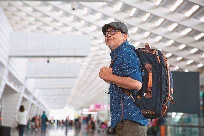 工頭堅推廣島內旅行,他認為台北市是適合一個人旅行的城市。(攝影/賴智揚)