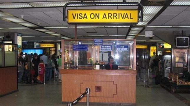 落地簽證 voavietnam.net