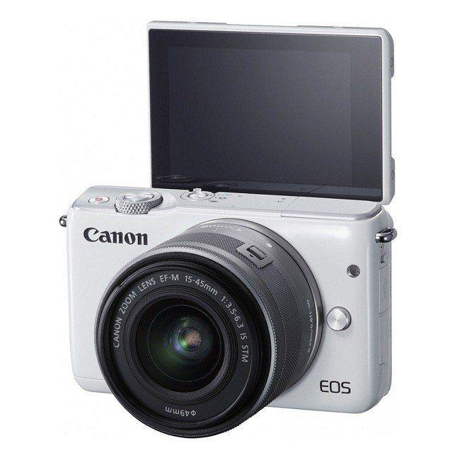 Canon EOS M10+15-45mm 單鏡組,5月17日限定價9,990元...