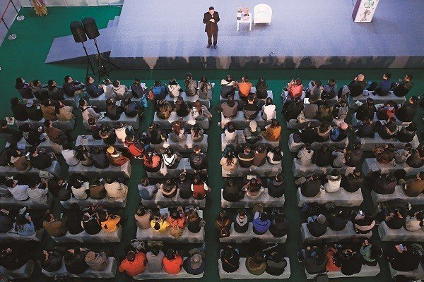 台北之於白先勇,就像是個劇場,而他是生活在裡頭的人,文化是他的家。(攝影/林煒凱...