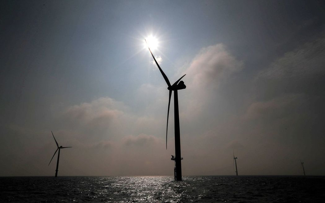 三井物產最快今天公布投資台灣離岸風場。 路透