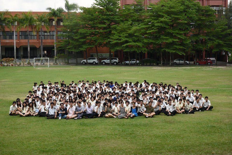 興國高中有近300名學生上大學。圖/興國高中提供