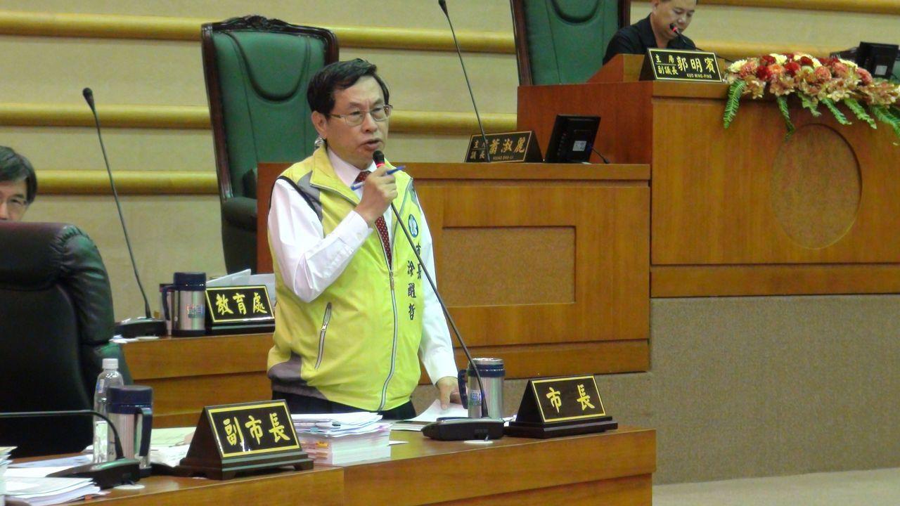 嘉義市長涂醒哲說,「忠孝三四六新興藝文產業聚落」規劃要宏觀一點,朝整體性開發努力...