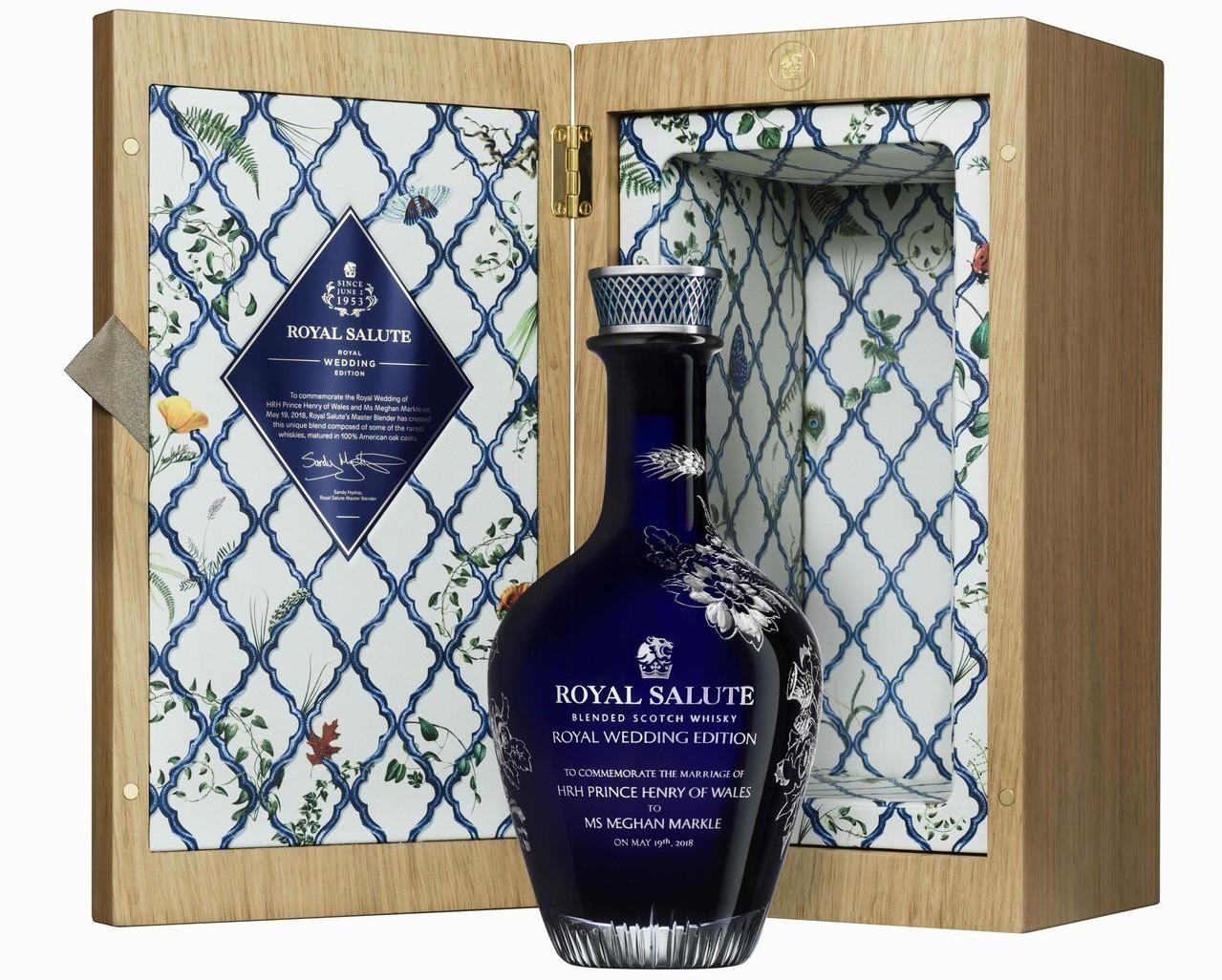 皇家禮炮Royal Wedding Edition獨家紀念版調和式威士忌,裝入D...