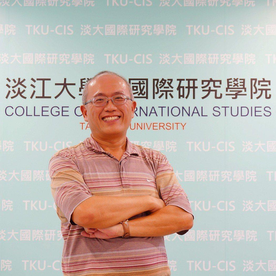 淡江大學中國大陸研究所副教授陳建甫。圖/淡江大學國際研究學院