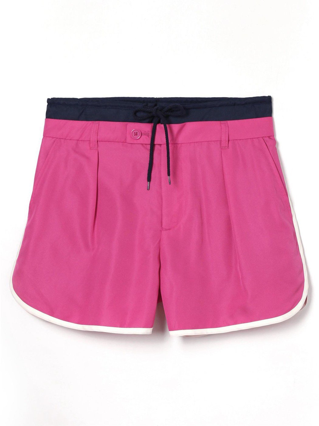 GAP與Constance Tsui聯名系列拼色松緊腰短褲,約1,999元。