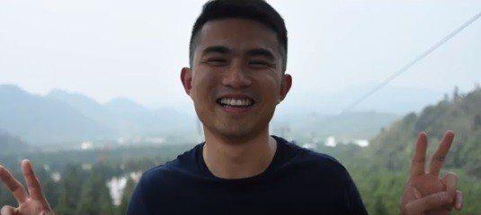 山峰分隊隊員游博瑜。圖/桃園市消防局提供